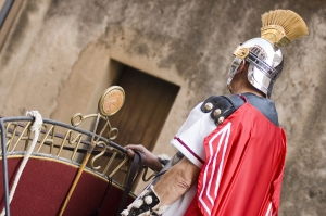 Roman Soldiers At Easter